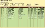 第10S:05月4週 優駿牝馬 競争成績