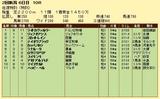 第6S:8月1週 泥@ライトカヴァルリー 競争成績