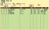 第10S:07月2週 泥@シュペルマスター 競争成績
