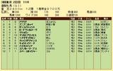 第13S:05月4週 優駿牝馬 成績