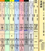 第6S:1月3週 京成杯 出馬表