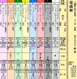 第10S:01月3週 京成杯 出馬表