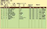 第13S:09月2週 新潟2歳S 成績