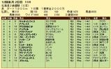 第10S:11月2週 北海道2歳優駿 競争成績