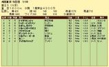 第4S:10月4週 富士S 競争成績