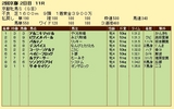 第13S:02月1週 京都牝馬S 成績