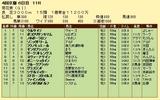 第15S:10月4週 菊花賞 成績