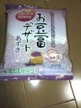 お豆腐デザートあずき
