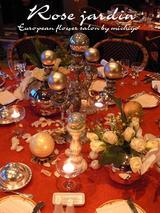 クリスマステーブルデコ