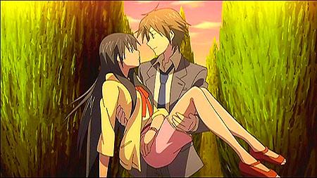 第11話「彼女・彼氏」滝島姫抱っこ