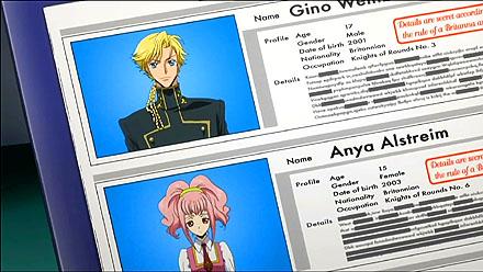 第12話「ラブアタック!」ジノとアーニャのステータス