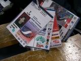 岡部選手の各W杯IDカード