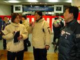 雪印首脳陣と太田選手