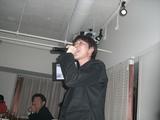 熱唱!富井監督
