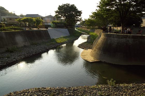 阿久和川親水化工事01