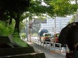 2006.8.5バス停で