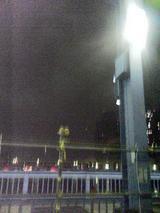 2006.7.29蛍光灯の明かり 携帯で