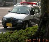 2006.7.29 男性警官のミニパト