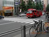 秋葉原消防車2006.7.27.