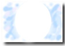 デザイン17写真台紙ブルー