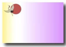 デザイン31紫黄鶴