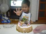 大4歳誕生日