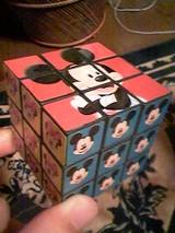 ディズニーのルービックキューブ