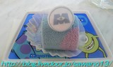 スーベニアプレート付きケーキ
