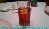 サービスの黒ウーロン茶
