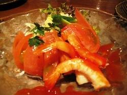 100401ーフルーツトマトとエビ