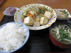 100406-豆腐チャンプルー