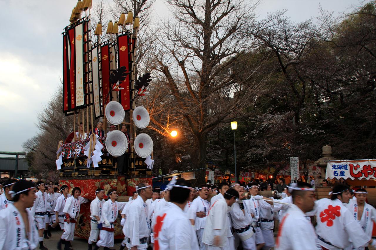 靖国神社御創立140年記念祭『ふるさと祭りin靖国』