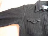 ジャケットの脇の脱色B