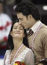 Patrice Lauzon & Marie-France Dubreuil (AP/Paul Chiasson)