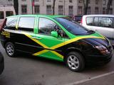 ジャマイカチームの車