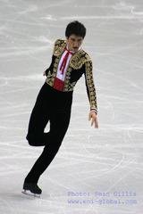 トリノ男子SP-エヴァン・ライサチェク