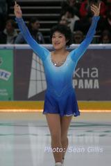 恩田美栄(05年ロシア杯表彰式より)