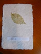 紙漉きの作品