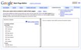 GAFYD Start page ガジェットディレクトリカスタマイズ画面