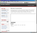 lazybase Bulk add 画面