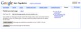 GAFYD Start page カスタマイズ発行画面