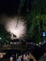 花火と灯篭5