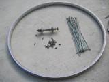 ハブダイナモを使った風力発電機