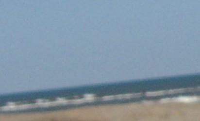 波乗り道路から海0903月