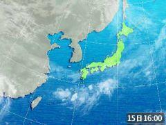 天氣図090915