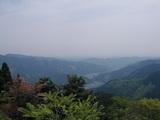 御岳山からの都内眺望