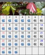 戸次重幸のカレンダー