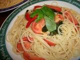 トマトスパの完成