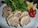チキンロール(豚ひき肉の鶏肉巻き)の完成