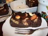 ヘルシー チョコバナナケーキの完成